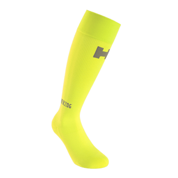 PRO Compression Socks Yellow - Herzog - Running - Injuries - Recovery