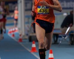Han Wolsing zilver NK Masters 3000m 15.02.15